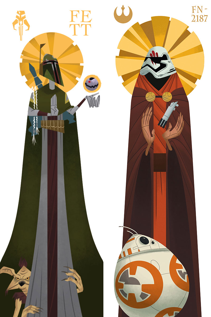 Saint Fett and Saint FN-2187 by Jacob McAlister - You Found Jacob